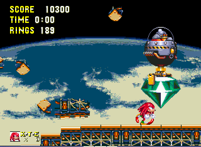 Sonic and Knuckles & Sonic 3 - EGGRUBO - User Screenshot